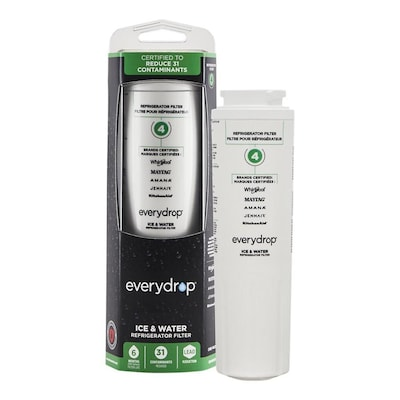 EveryDrop Filter 4 6-Month Refrigerator Water Filter at