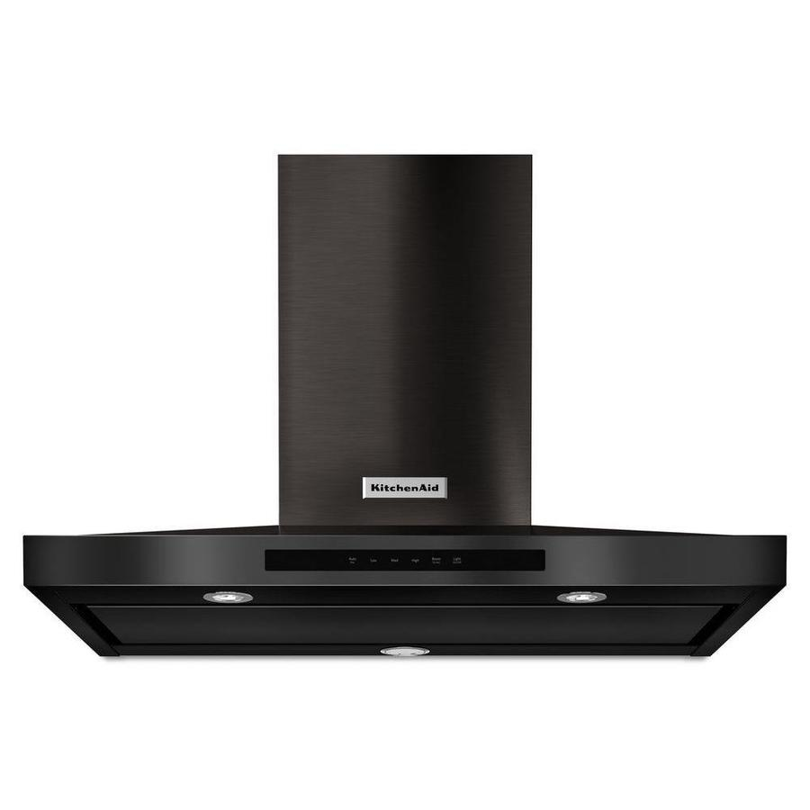 KitchenAid Convertible Wall-Mounted Range Hood (Black Stainless Steel) (Common: 36-in; Actual: 36-in)