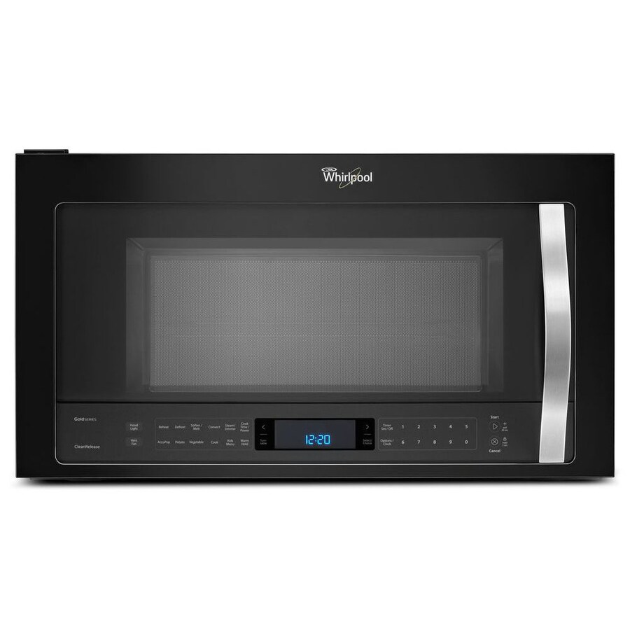 Whirlpool Microwave Convection Oven Recipes: Shop Whirlpool 1.9-cu Ft Over-the-Range Convection