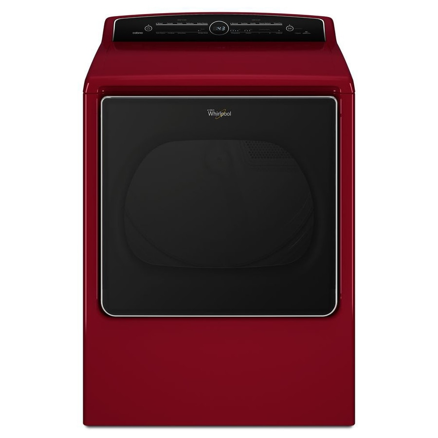 Whirlpool Cabrio 8.8-cu ft Electric Dryer (Cranberry Red) ENERGY STAR