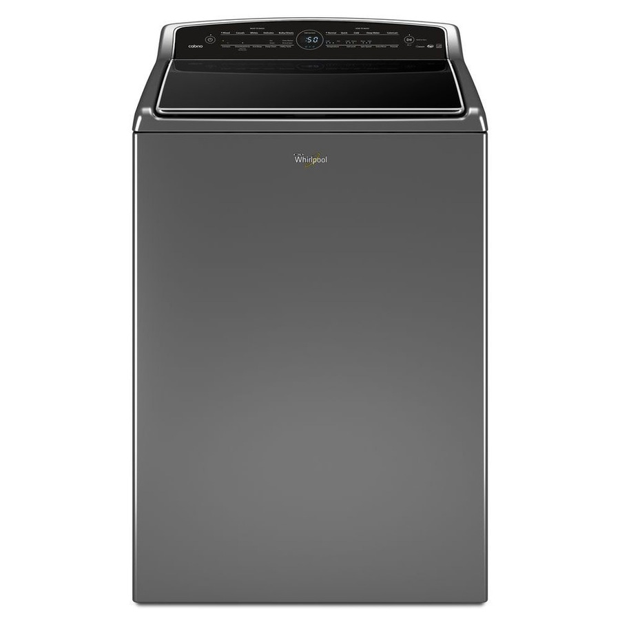 Whirlpool Cabrio 5.3-cu ft High-Efficiency Top-Load Washer (Chrome Shadow) ENERGY STAR