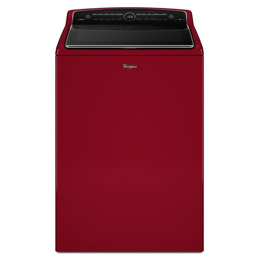 Shop Whirlpool Cabrio 8 8 Cu Ft High Efficiency Top Load