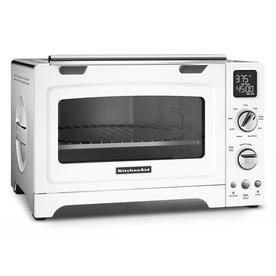 KitchenAid 4 Slice White Convection Toaster Oven