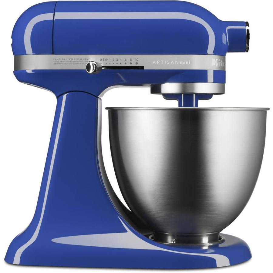 Shop KitchenAid Artisan Mini 3.5-Quart 10-Speed Twilight Blue ...
