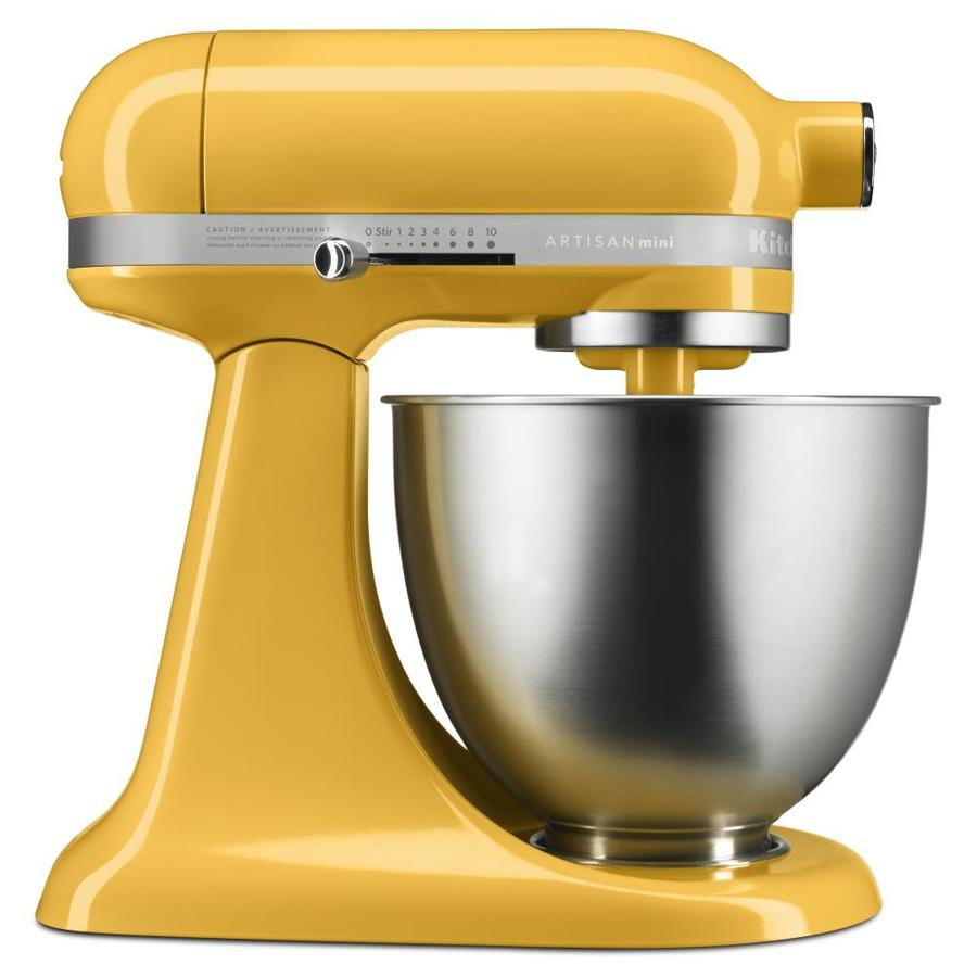 KitchenAid Artisan Mini 3 Quart 10 Speed Orange Sorbet Countertop Stand  Mixer