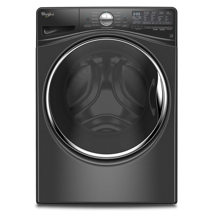 Whirlpool Load and Go 4.2-cu ft High-Efficiency Stackable Front-Load Washer (Black Diamond) ENERGY STAR