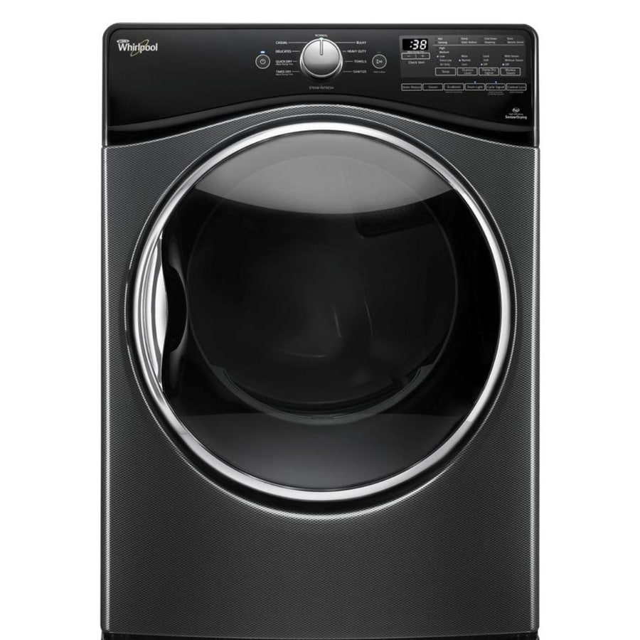 Whirlpool 7.4-cu ft Stackable Electric Dryer (Black Diamond) ENERGY STAR