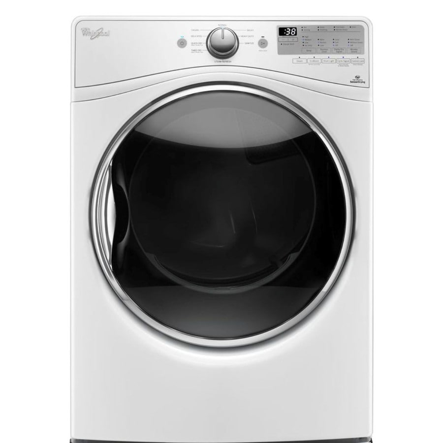Whirlpool 7.4-cu ft Stackable Gas Dryer (White)