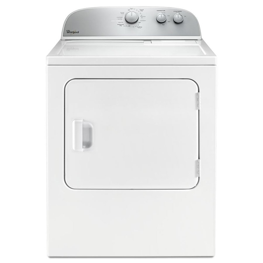 Whirlpool 5.9-cu ft Electric Dryer (White)