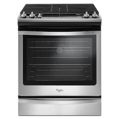 Whirlpool 5 Burners 8 Cu Ft Self
