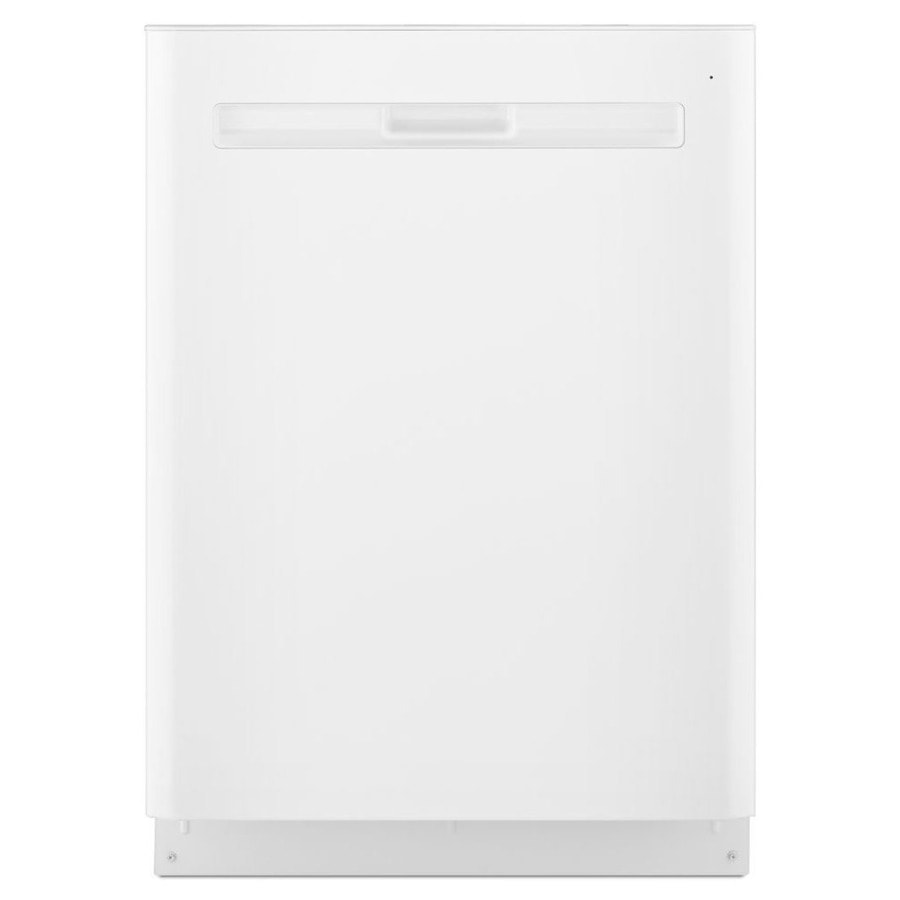Maytag 47-Decibel Built-In Dishwasher (White) (Common: 24-in; Actual: 23.875-in) ENERGY STAR