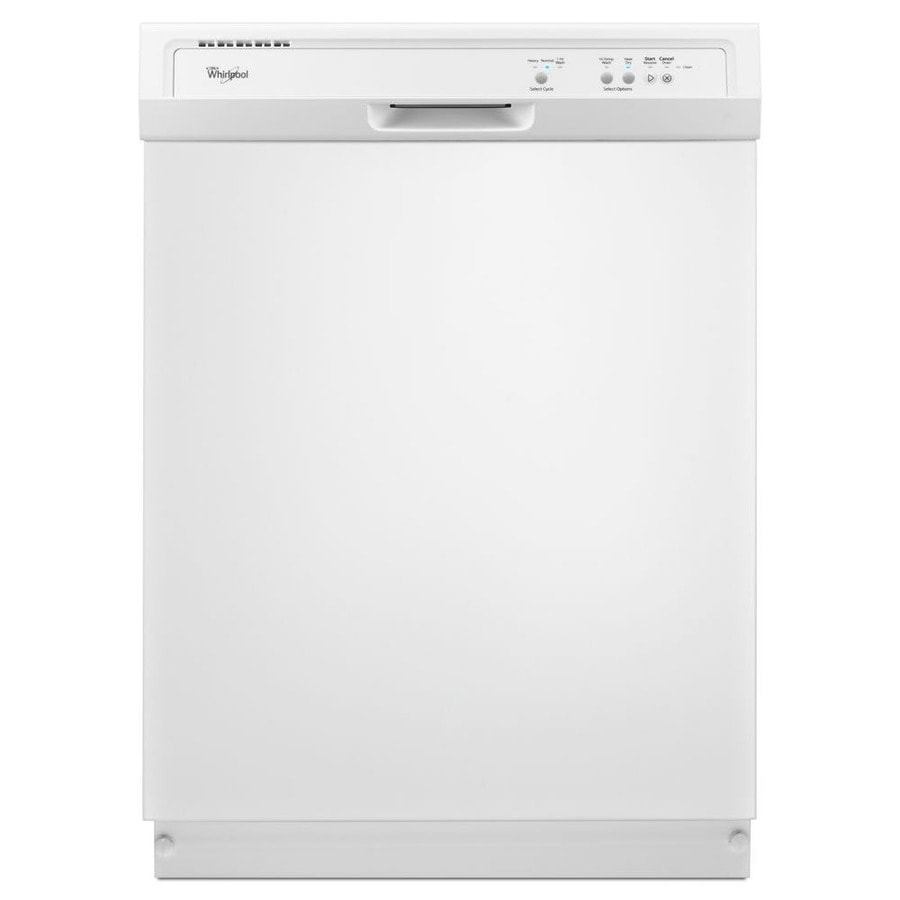 Shop Whirlpool 63-Decibel Built-in Dishwasher (White