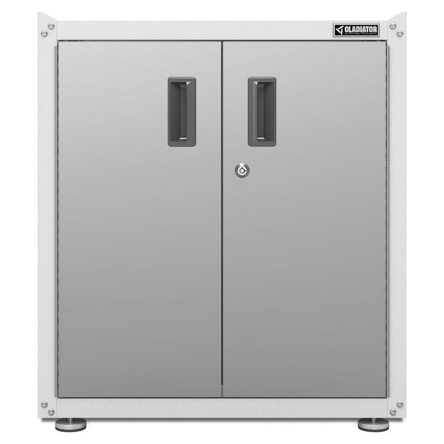Gladiator Ready-to-Assemble Full-Door Modular GearBox 28-in W x 31-in H x 18-in D Steel Freestanding Garage Cabinet