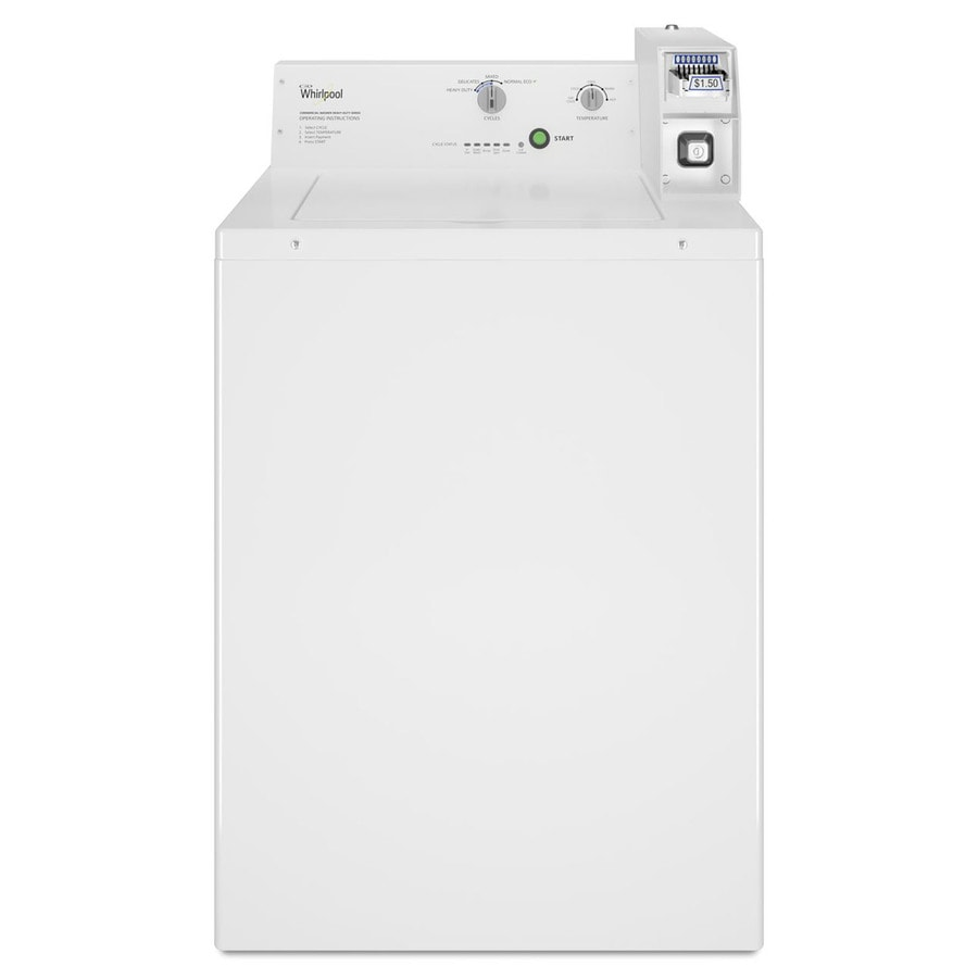 Shop Whirlpool Commercial Capacity Coin Operated Top Load