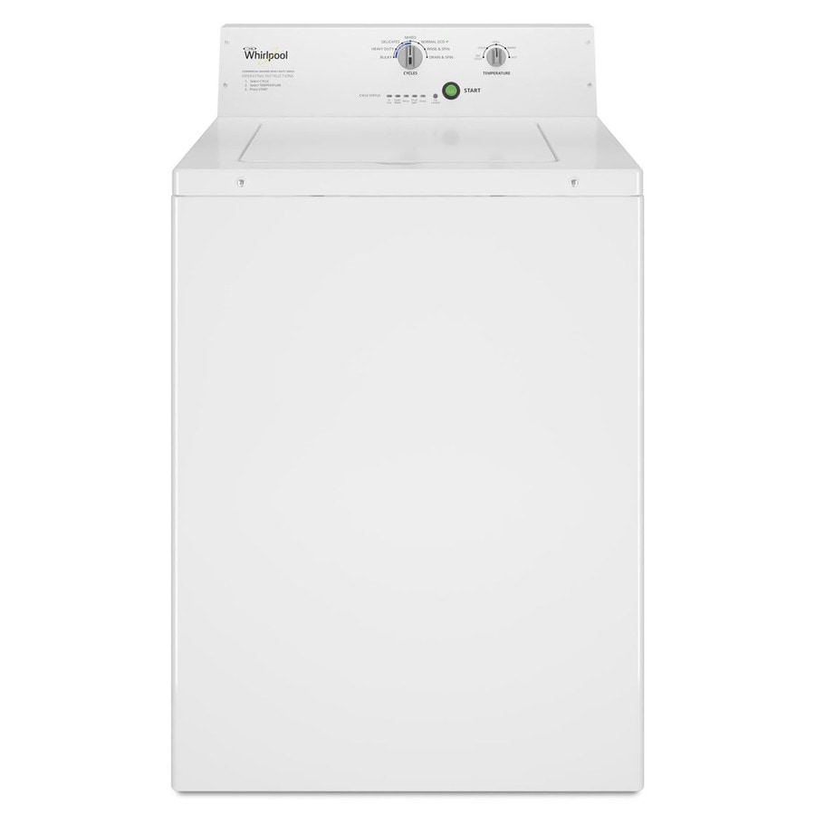 Whirlpool Commercial Capacity Top Load Commercial Washer (White)