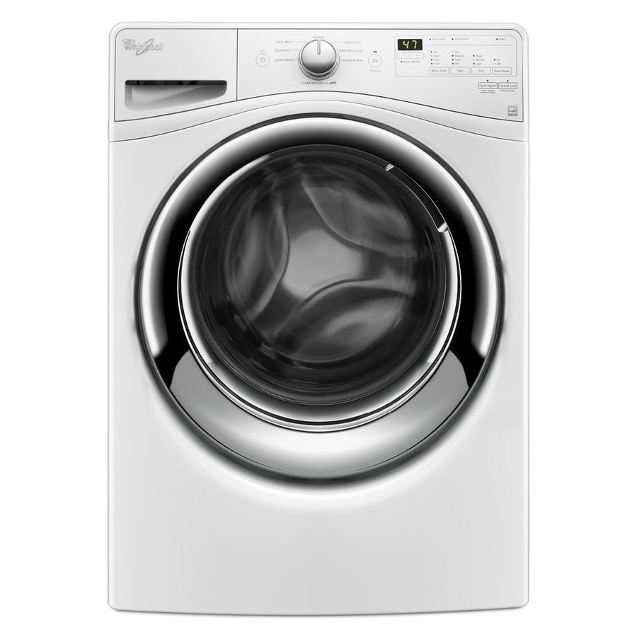 Whirlpool 4.5-cu ft High-Efficiency Stackable Front-Load Washer (White) ENERGY STAR