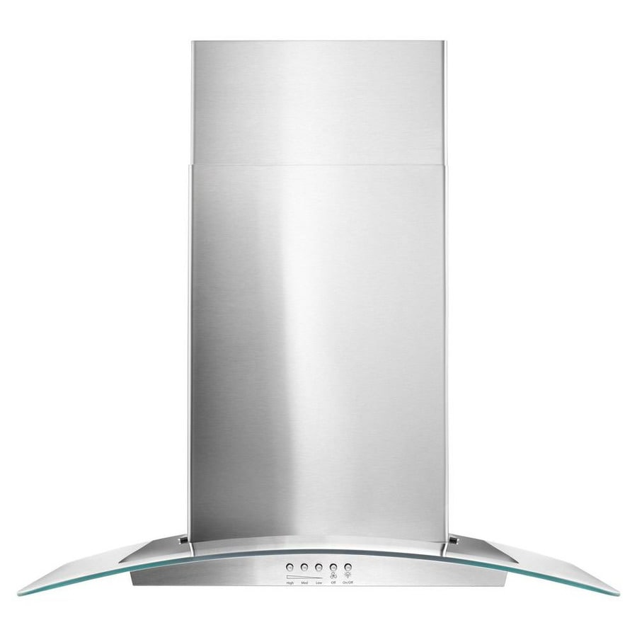 Whirlpool Convertible Wall Mounted Range Hood (Stainless Steel) (Common: 30