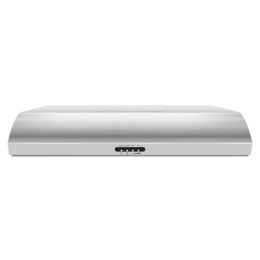 Whirlpool Undercabinet Range Hood (Stainless Steel) (Common: 30-in; Actual: 29.94-in)