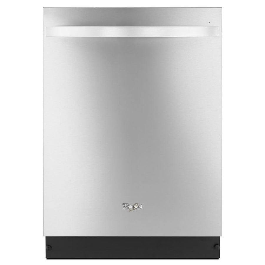 Whirlpool 47-Decibel Built-in Dishwasher (Monochromatic Stainless Steel) (Common: 24-in; Actual: 23.88-in) ENERGY STAR