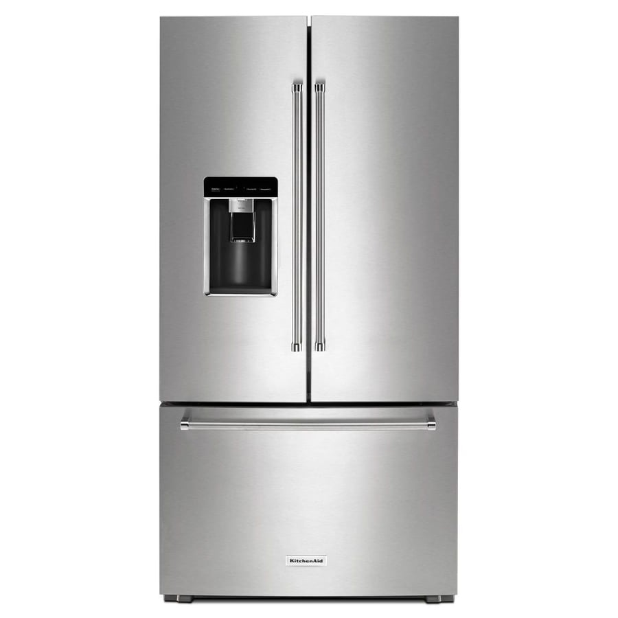 Shop KitchenAid 23.8-cu Ft Counter-Depth French Door