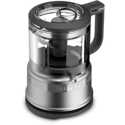 3.5-Cup Contour Silver 1-Blade Mini Food Chopper