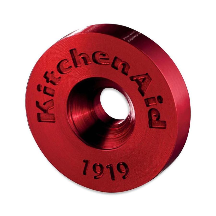 KitchenAid Wall Oven Handle Medallion (Red)