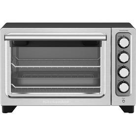 KitchenAid 4 Slice Stainless Steel Convection Toaster Oven Auto Shut Off