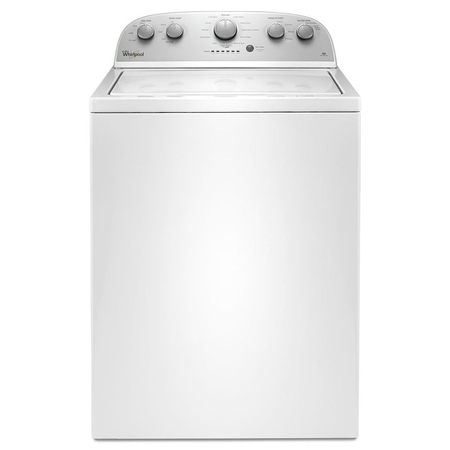 whirlpool 35cu ft topload washer white while supplies last