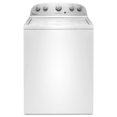 Whirlpool 3.5-cu ft High Efficiency Top-Load Washer (White) at Lowes.com