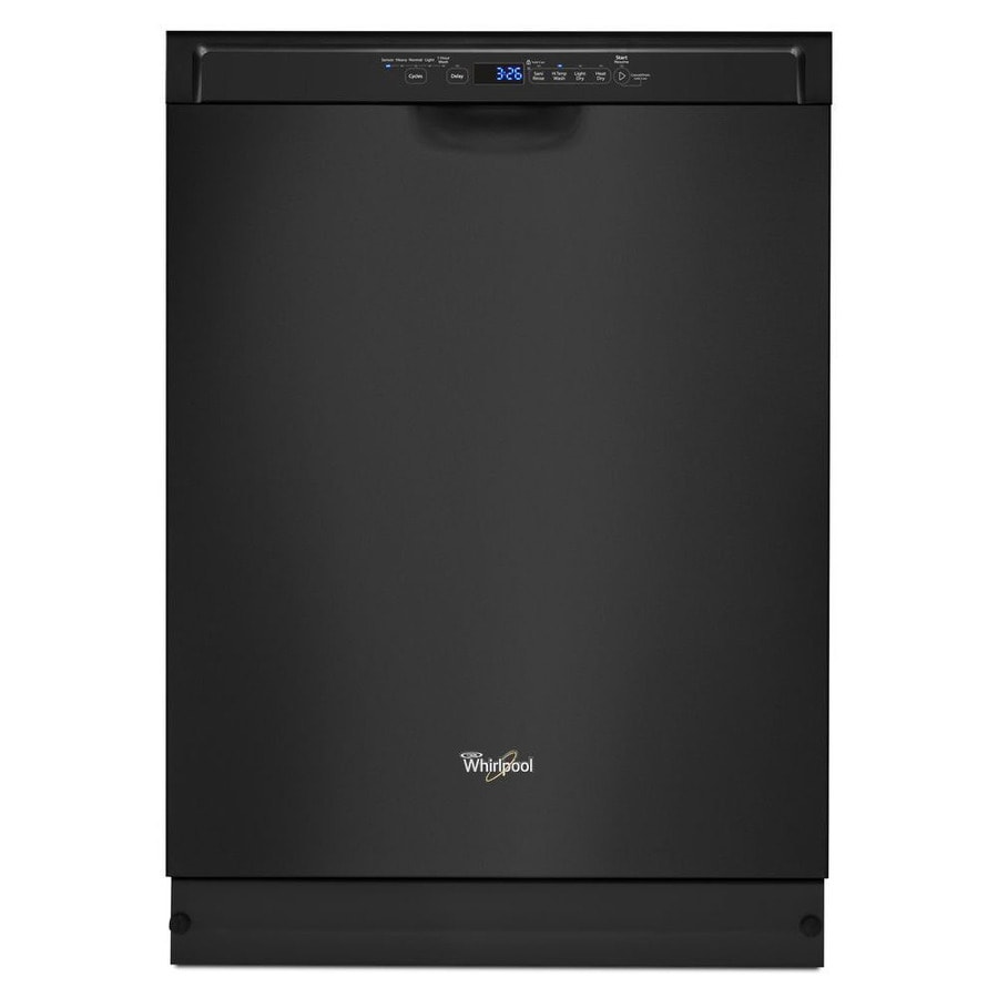 Maytag Mdb5969sdh 24 In 50 Decibel Built In Dishwasher: Whirlpool 50-Decibel Built-In Dishwasher (Black) (Common