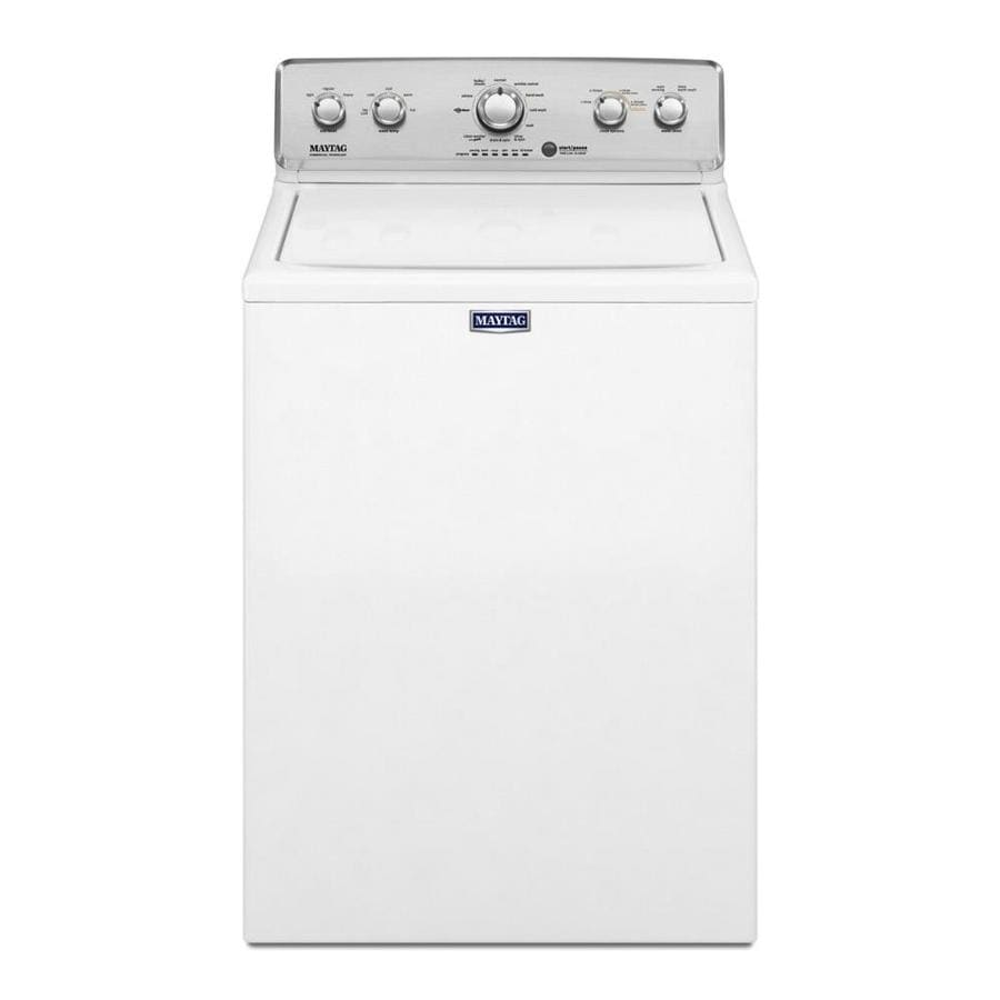 Maytag 4.2-cu ft High-Efficiency Top-Load Washer (White)