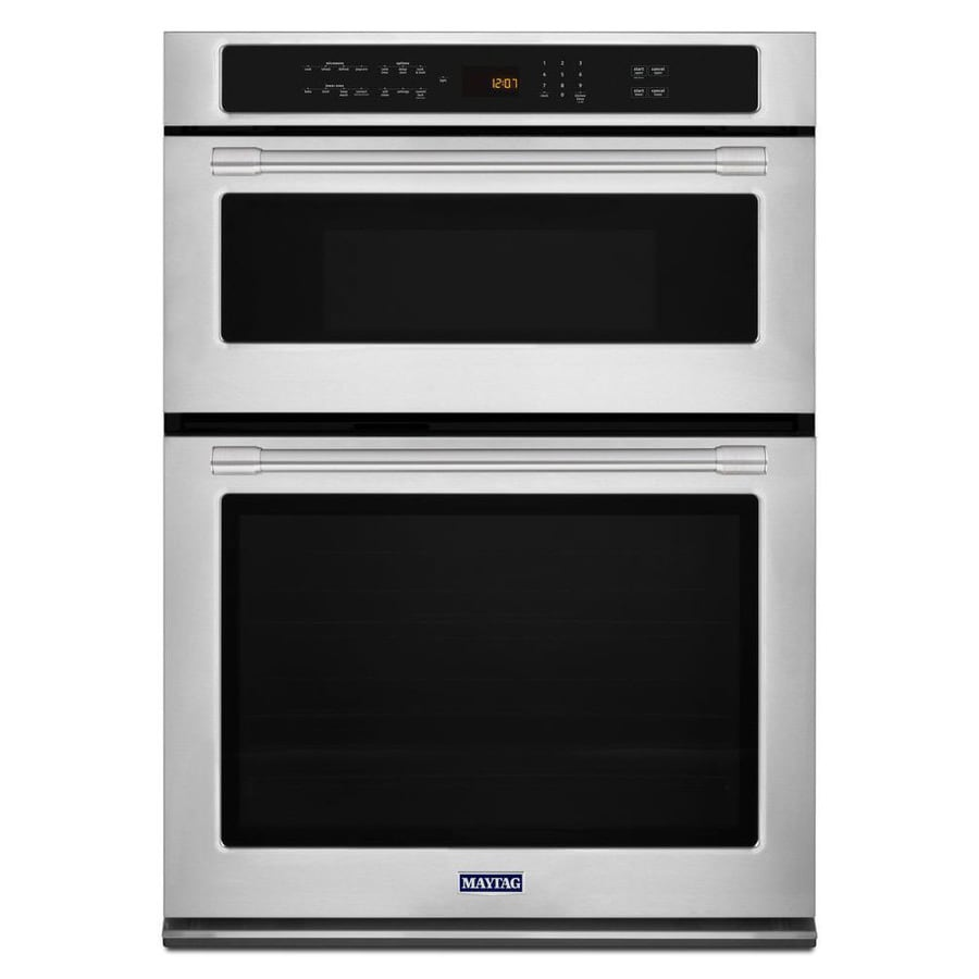Shop Maytag Self Cleaning Convection Microwave Wall Oven