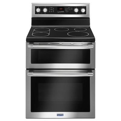 Double Oven Electric Ranges At Lowes Com