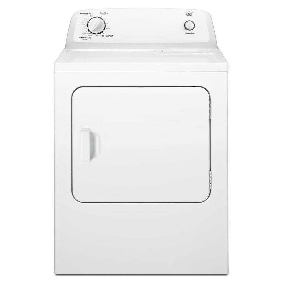 Roper 6.5-cu ft Gas Dryer (White)