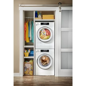 Whirlpool 2 3 Cu Ft High Efficiency Stackable Front Load