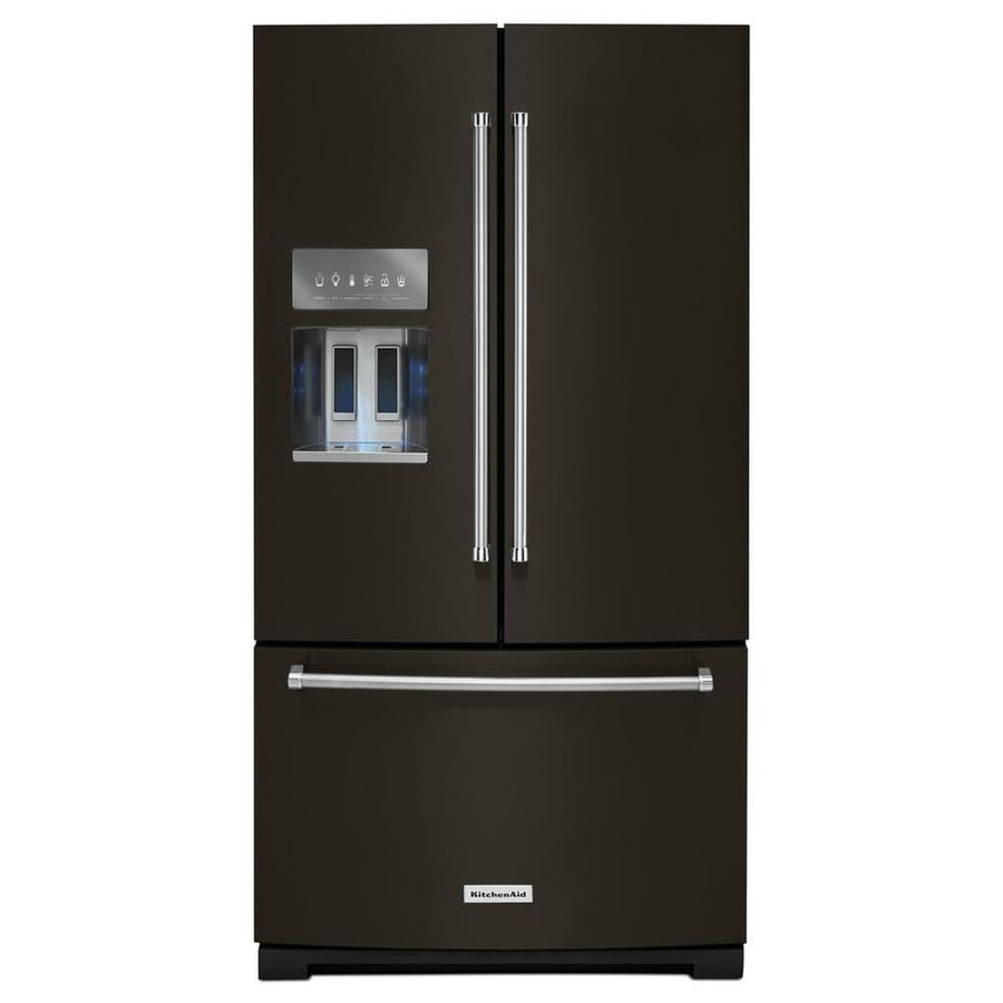 Shop KitchenAid 26.8-cu Ft French Door Refrigerator With