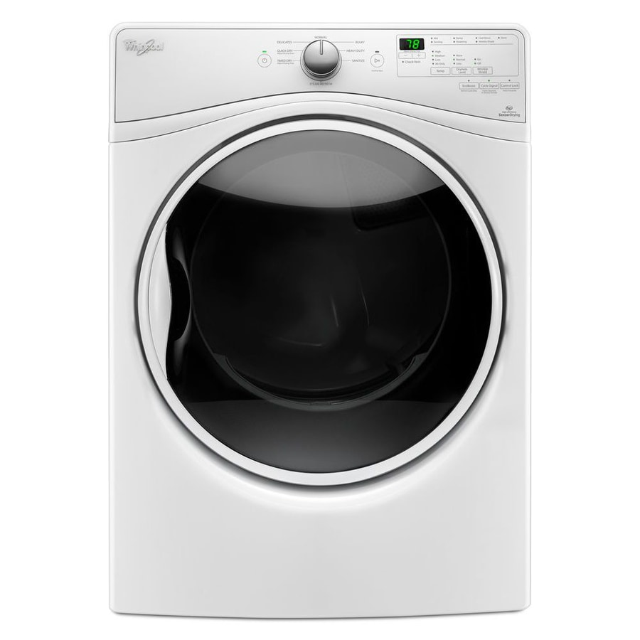 Whirlpool 7.4-cu Ft Stackable Gas Dryer (White) At Lowes.com