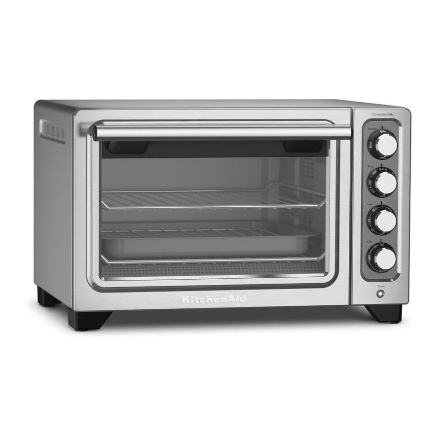 Kitchenaid 6 Slice Silver Toaster Oven At Lowes Com