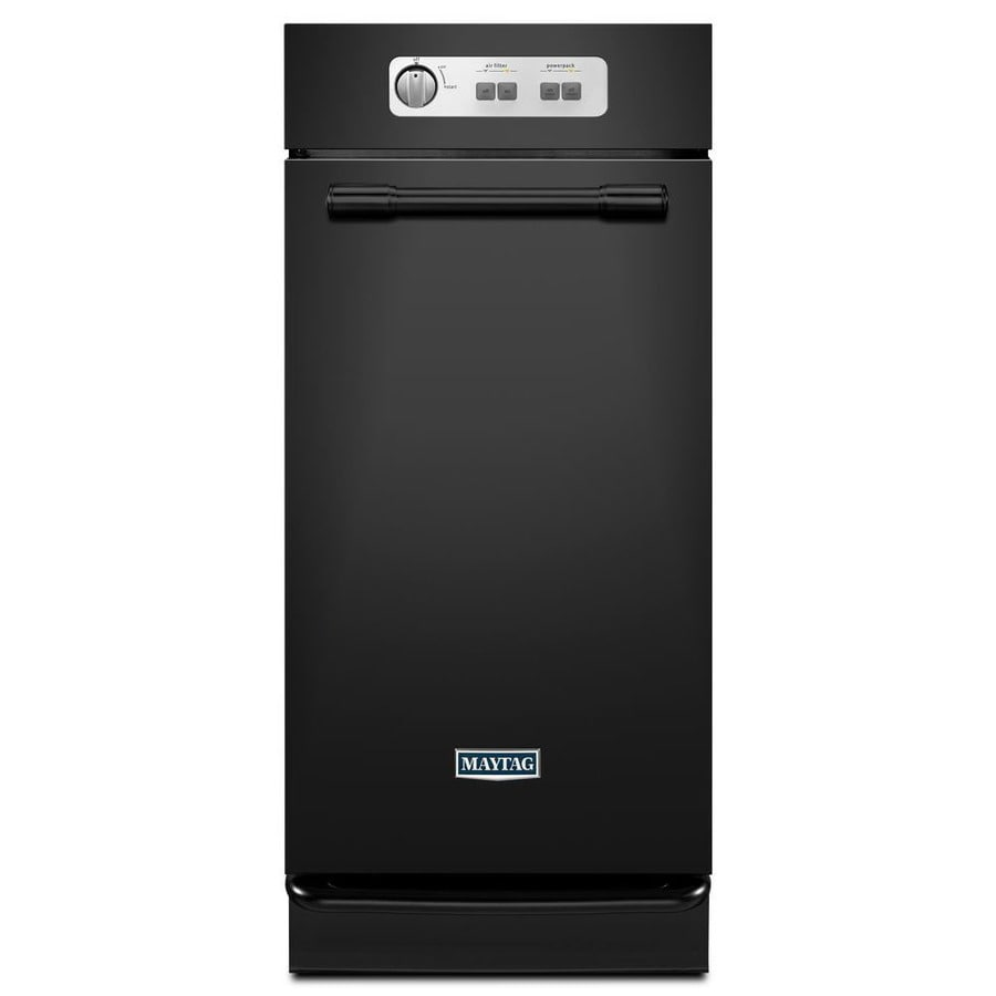 Maytag 15-in Black Undercounter Trash Compactor