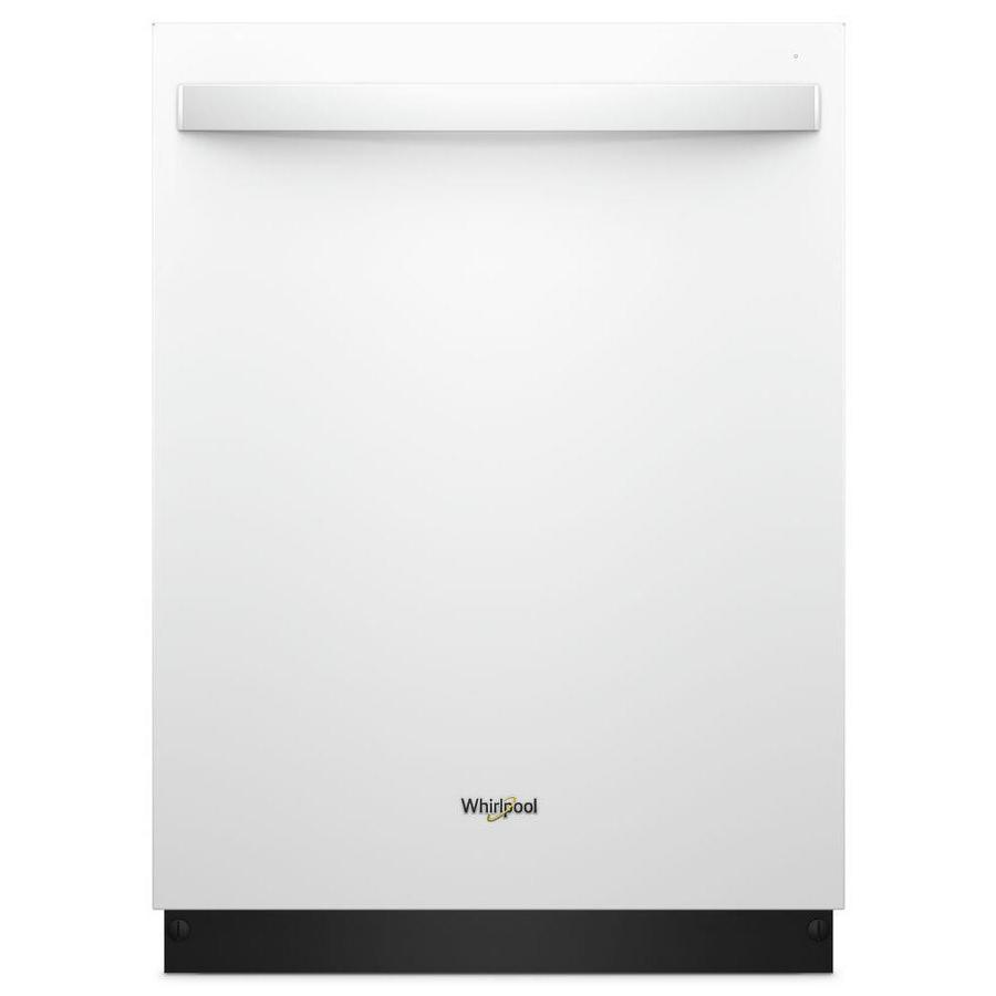 Shop Whirlpool 47-Decibel Built-In Dishwasher (White