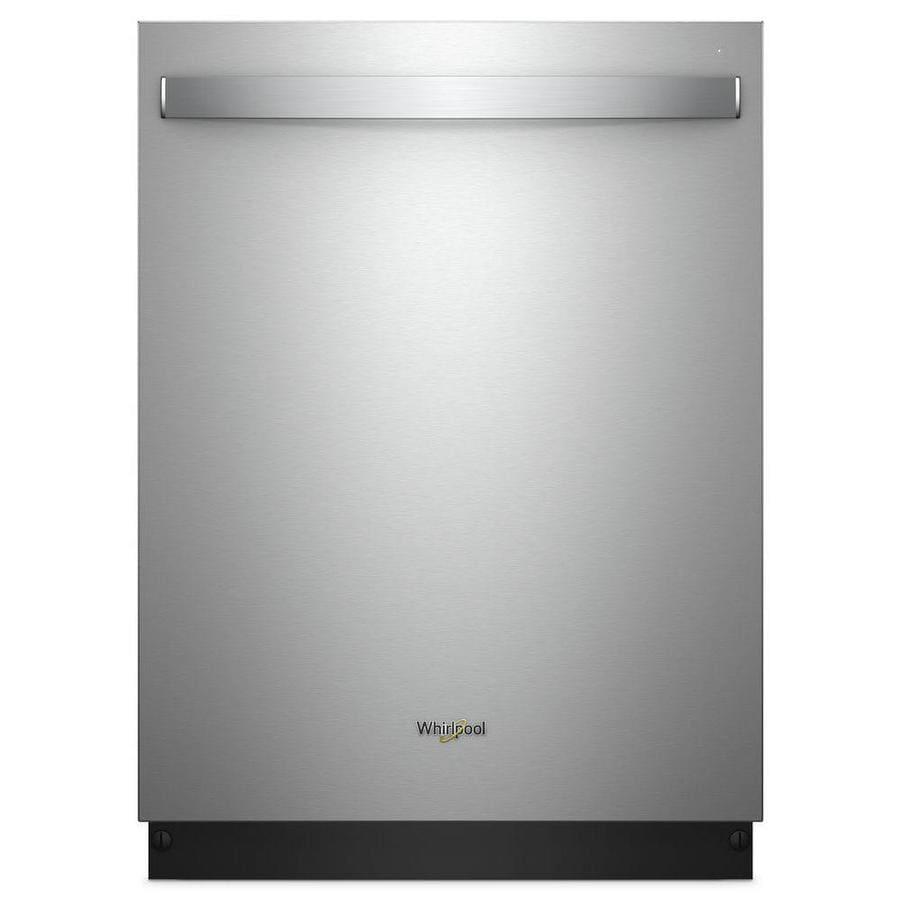Whirlpool 47 Decibel Built In Dishwasher Fingerprint