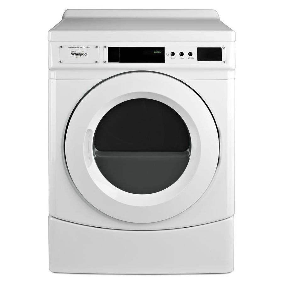 Whirlpool Commercial 6 7 Cu Ft Gas Commercial Dryer White