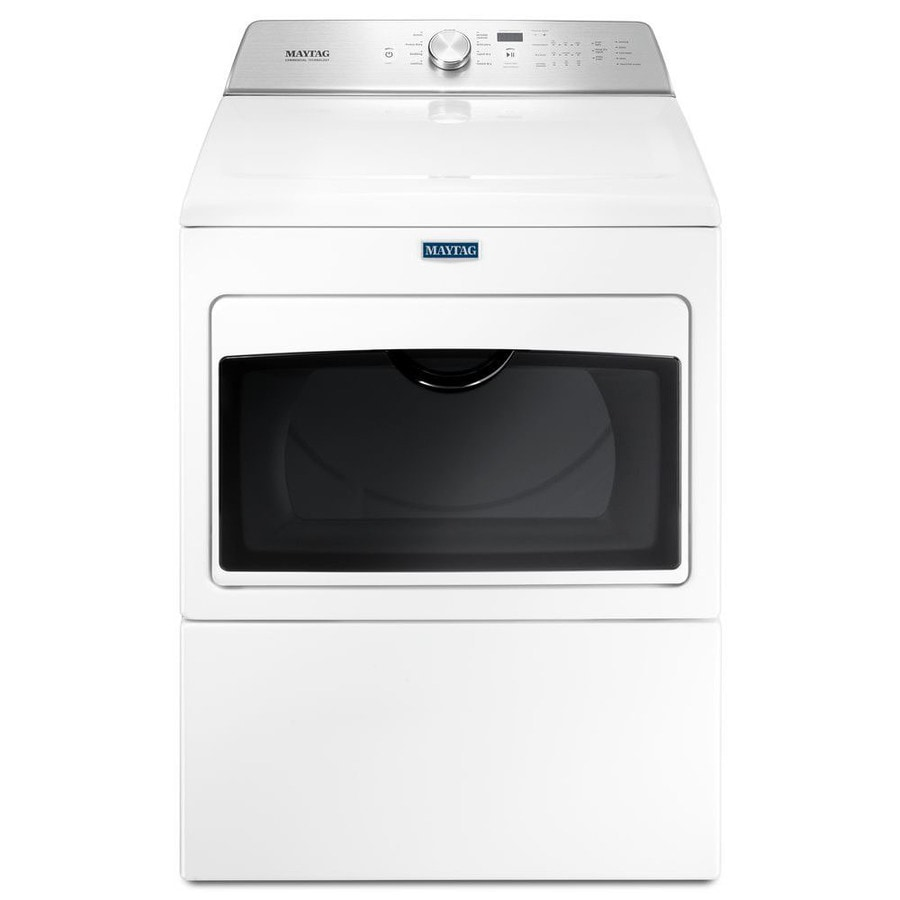 Shop Maytag 7 4 Cu Ft Gas Dryer White At