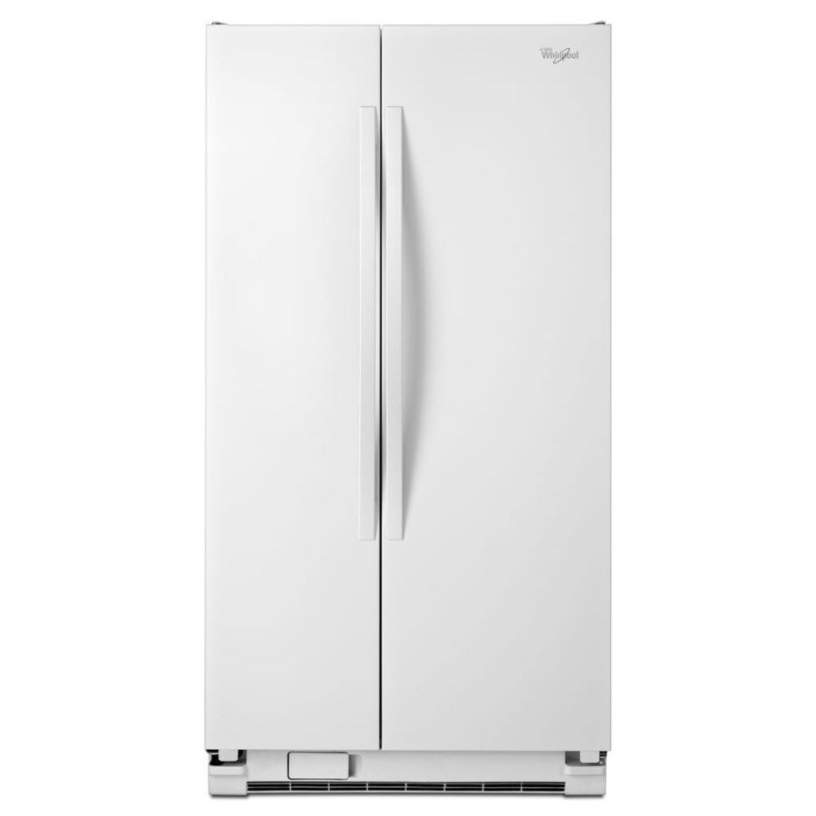 Whirlpool 21.6-cu ft Side-by-Side Refrigerator (White)
