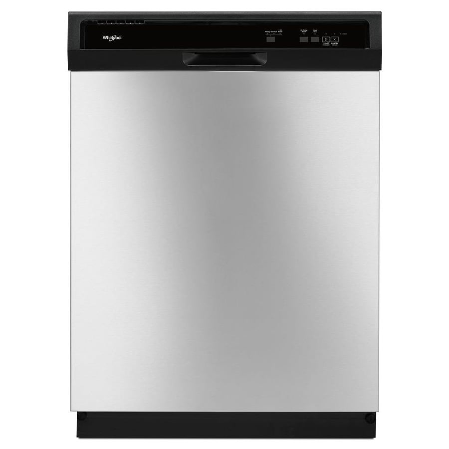 Shop Whirlpool 24 In Stainless Steel Heavy Duty Dishwasher
