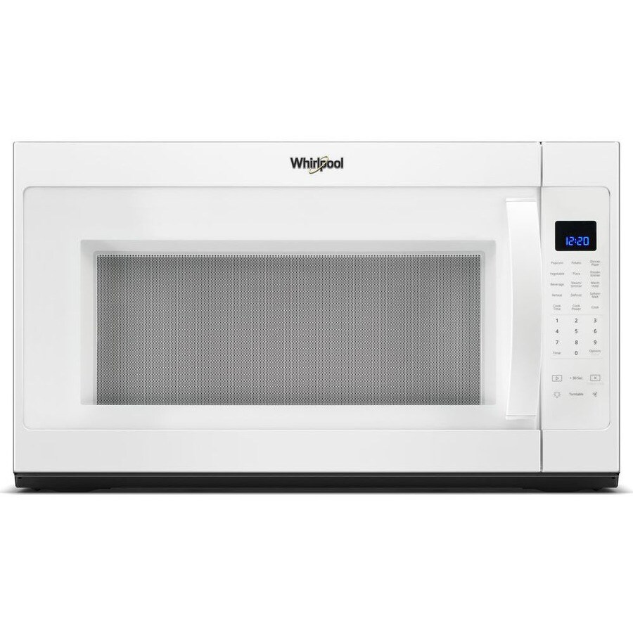 Whirlpool 2 1 Cu Ft Over The Range Microwave With Sensor Cooking Controls