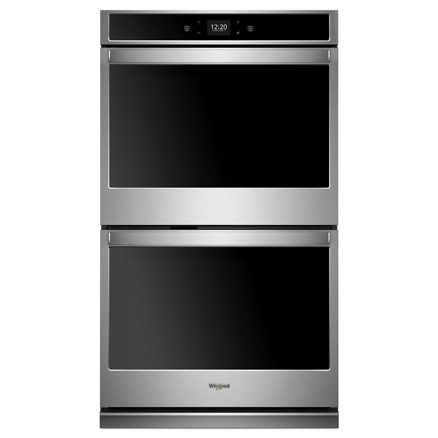 Lowes Paint App >> Whirlpool Smart Double Electric Wall Oven (Stainless Steel ...