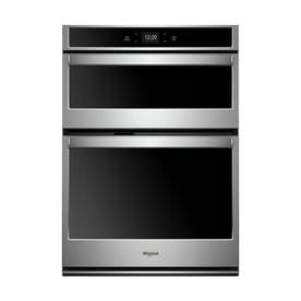 Whirlpool 27 in. Electric Smart Wall Oven with Built-In Microwave with Touchscreen in Stainless Steel