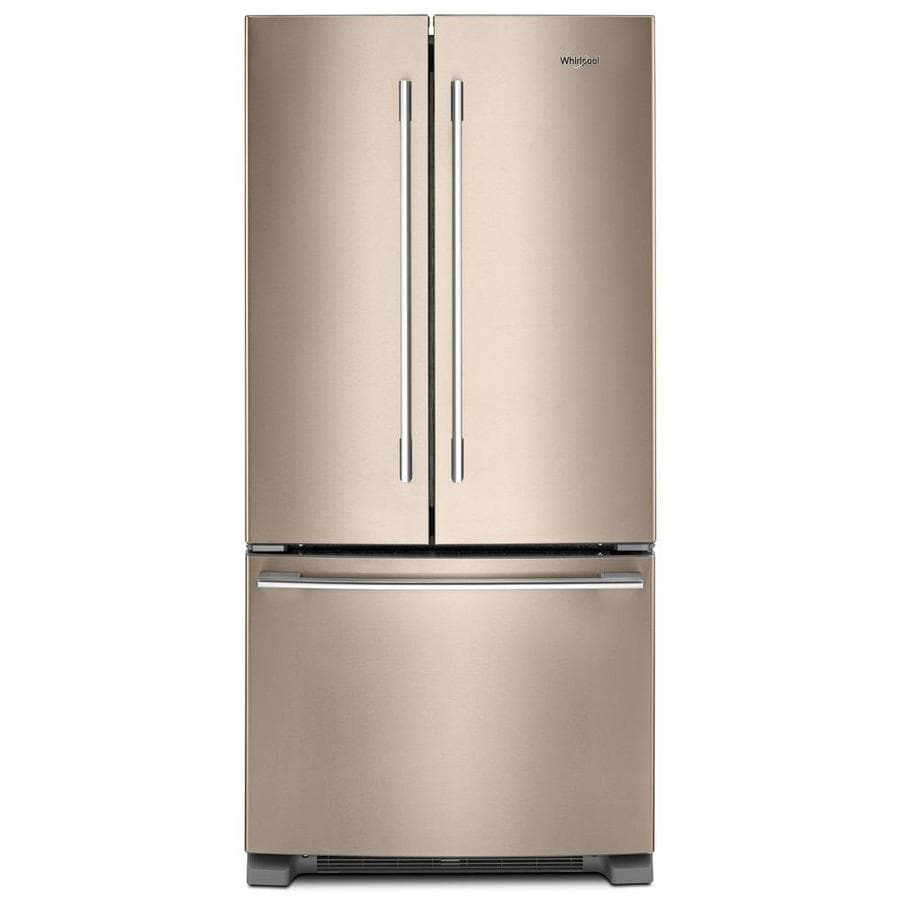 Whirlpool 22 1 Cu Ft French Door Refrigerator With Ice