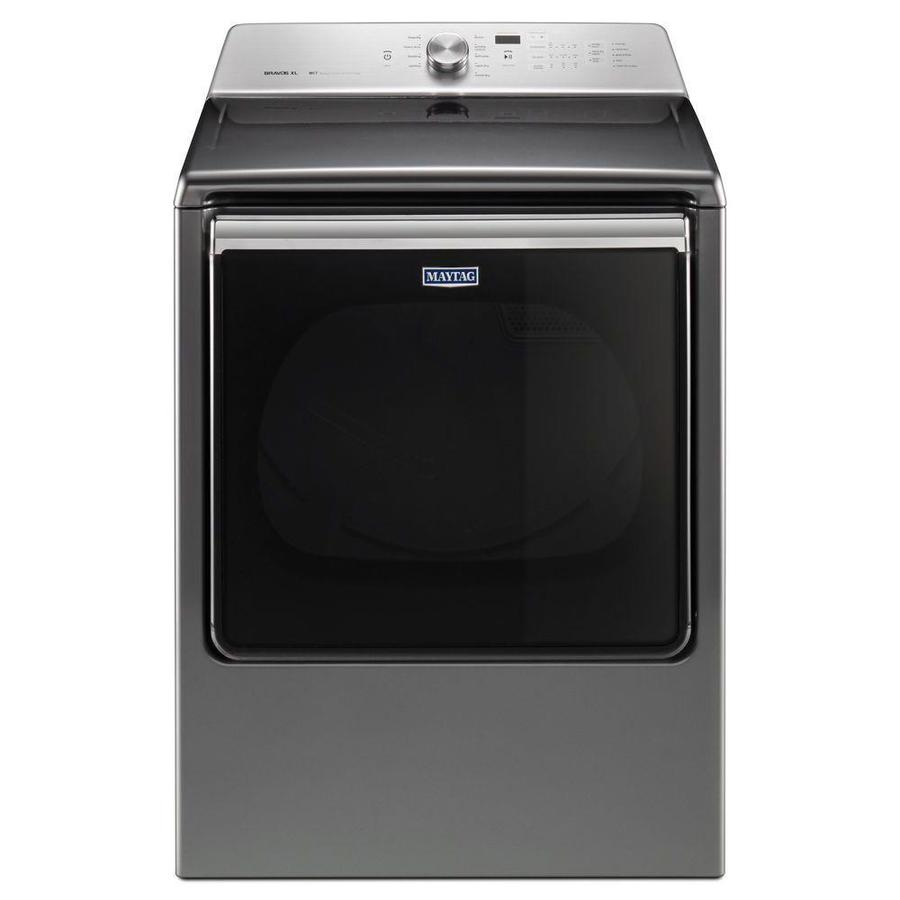 Maytag 8.8-cu ft Electric Dryer (Metallic Slate) ENERGY STAR